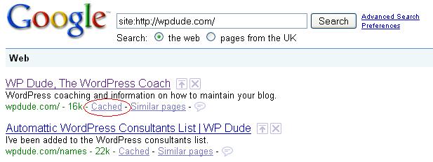 googlecache